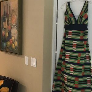 Vintage Tori Richard Maxi Halter Dress Lord&Taylor